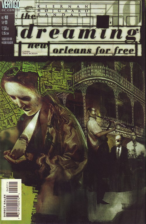 Couverture de Dreaming (The) (1996) -40- Fox and hounds (1): New Orleans for free