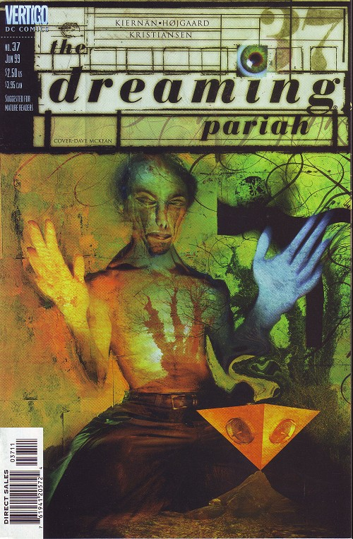 Couverture de Dreaming (The) (1996) -37- The gyres (2): pariah