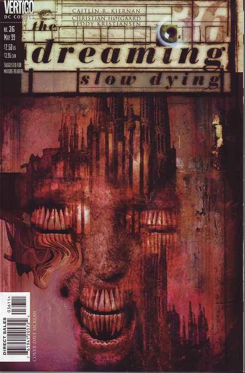 Couverture de Dreaming (The) (1996) -36- The gyres (1): slow dying