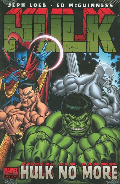 Couverture de Hulk Vol.2 (Marvel comics - 2008) -INTHC0- Hulk No More