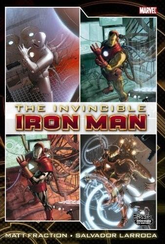 Couverture de Invincible Iron Man (2008) -OHC01- Deluxe Hardcover volume 1