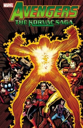 Couverture de Avengers Vol. 1 (Marvel Comics - 1963) -INTa- The Korvac Saga