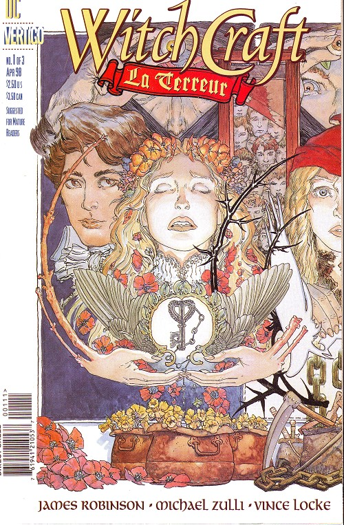 Couverture de Witchcraft: La Terreur (1998) -1- La terreur (1): winter into april