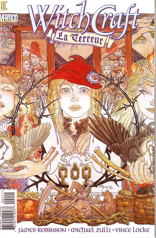 Couverture de Witchcraft: La Terreur (1998) -2- La terreur (2): april into september