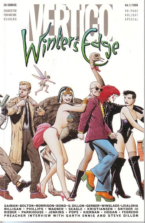 Couverture de Vertigo Winter's Edge -1- Holiday special n°1
