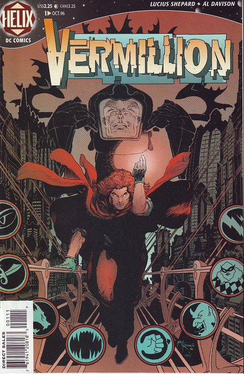Couverture de Vermillion (1996) -1- Starlight drive (1)