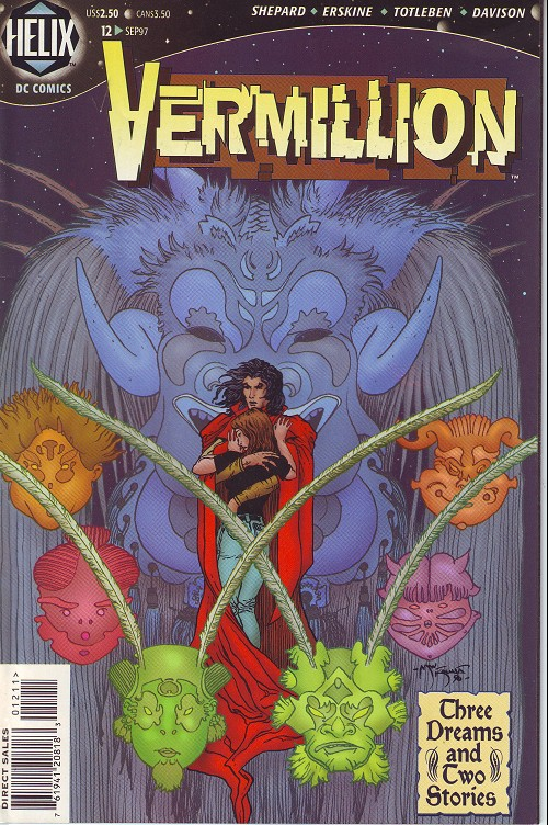 Couverture de Vermillion (1996) -12- Three dreams and two stories