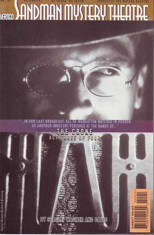 Couverture de Sandman Mystery Theatre (1993) -55- The Crone (3)