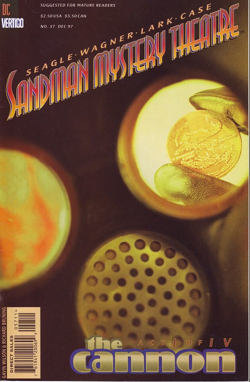 Couverture de Sandman Mystery Theatre (1993) -57- The Cannon (1)