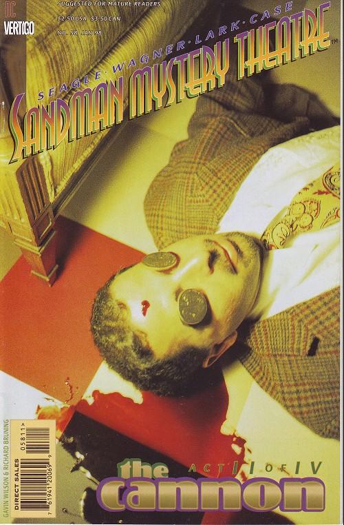 Couverture de Sandman Mystery Theatre (1993) -58- The Cannon (2)