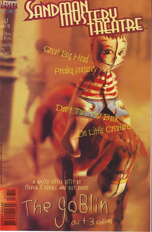 Couverture de Sandman Mystery Theatre (1993) -67- The Goblin (3)