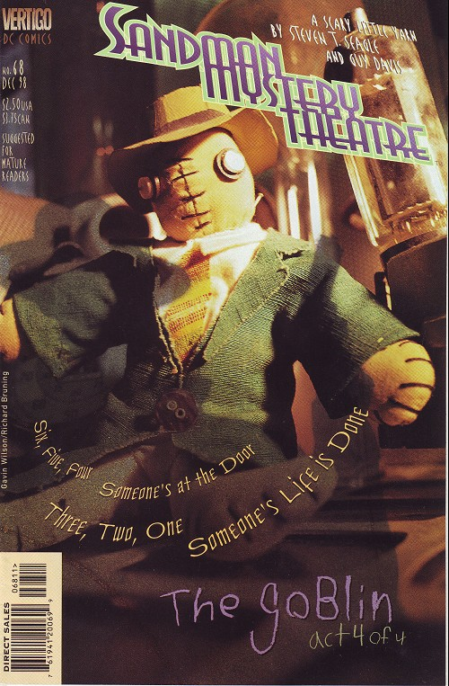Couverture de Sandman Mystery Theatre (1993) -68- The Goblin (4)