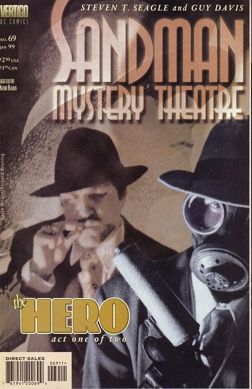 Couverture de Sandman Mystery Theatre (1993) -69- The Hero (1)