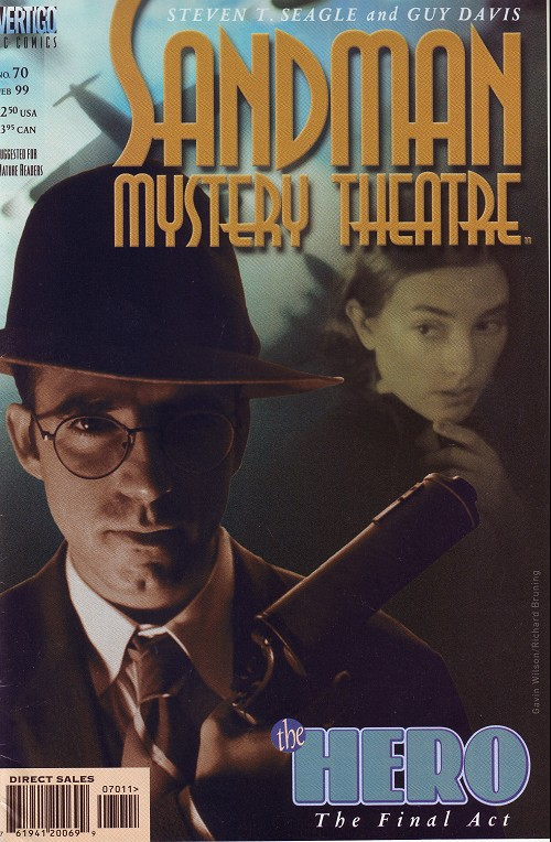 Couverture de Sandman Mystery Theatre (1993) -70- The Hero (The final Act)