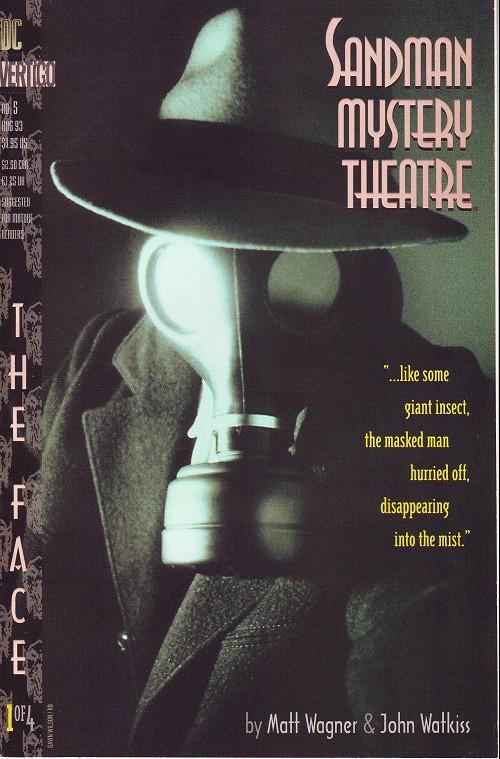 Couverture de Sandman Mystery Theatre (1993) -5- The Face (1)