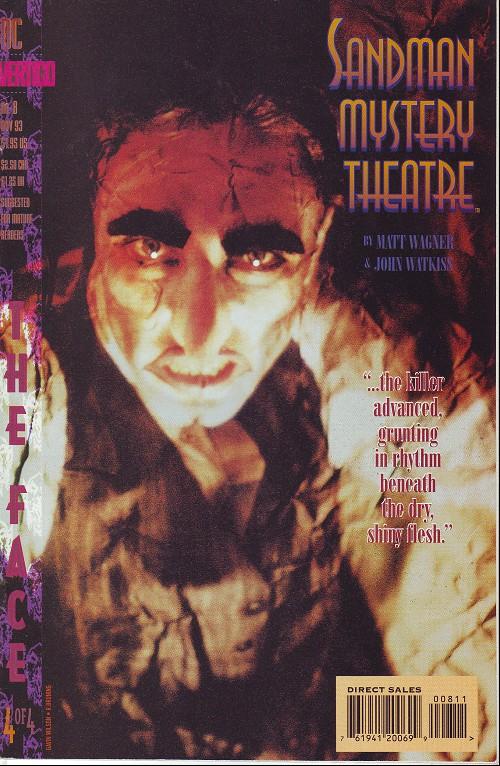 Couverture de Sandman Mystery Theatre (1993) -8- The Face (4)