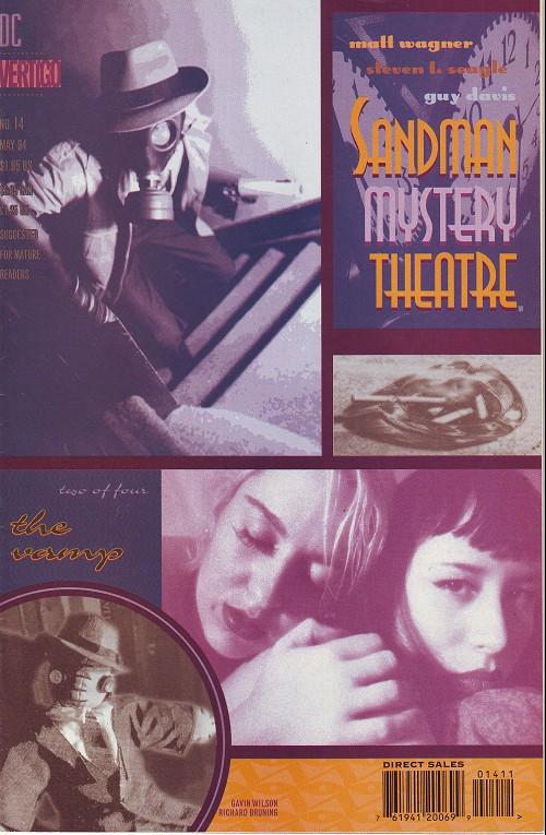Couverture de Sandman Mystery Theatre (1993) -14- The Vamp (2)