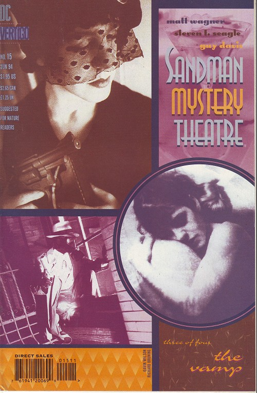 Couverture de Sandman Mystery Theatre (1993) -15- The Vamp (3)