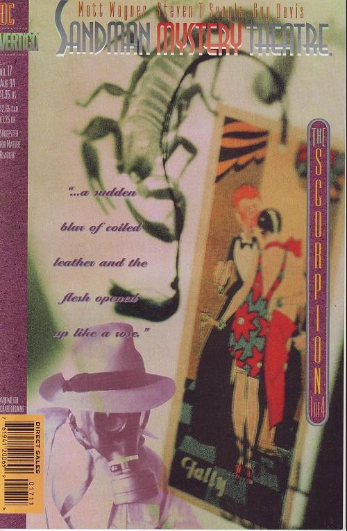 Couverture de Sandman Mystery Theatre (1993) -17- The Scorpion (1)