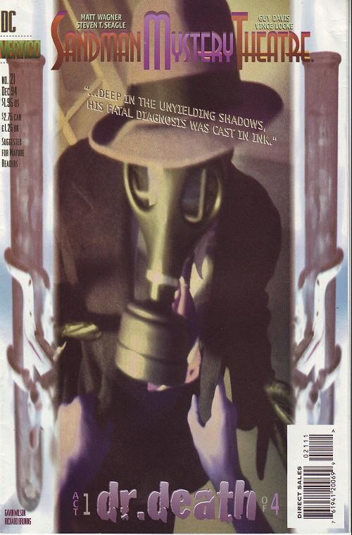 Couverture de Sandman Mystery Theatre (1993) -21- Dr. Death (1)
