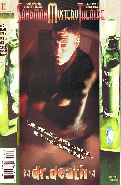 Couverture de Sandman Mystery Theatre (1993) -24- Dr. Death (4)