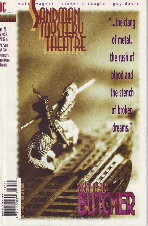 Couverture de Sandman Mystery Theatre (1993) -25- Night of the Butcher (1)
