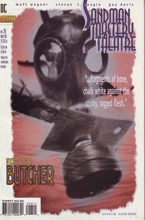 Couverture de Sandman Mystery Theatre (1993) -26- Night of the Butcher (2)