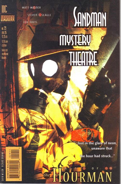 Couverture de Sandman Mystery Theatre (1993) -29- The Hourman (1)