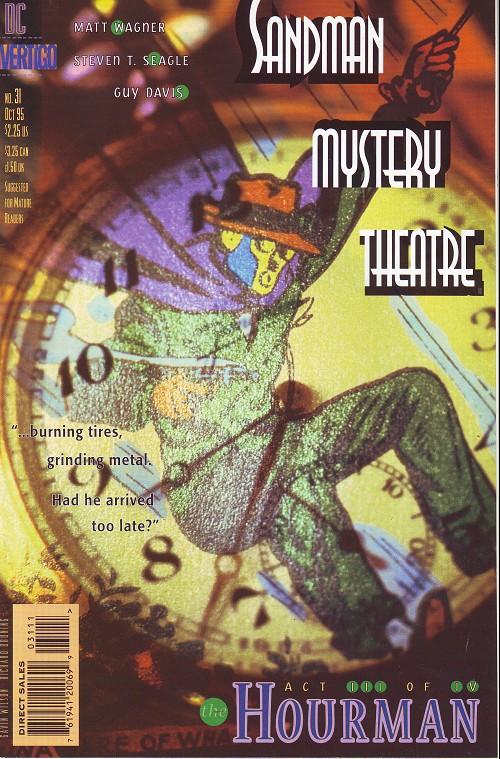 Couverture de Sandman Mystery Theatre (1993) -31- The Hourman (3)