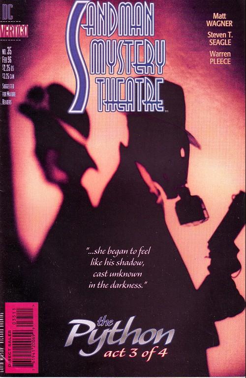 Couverture de Sandman Mystery Theatre (1993) -35- The Python (3)