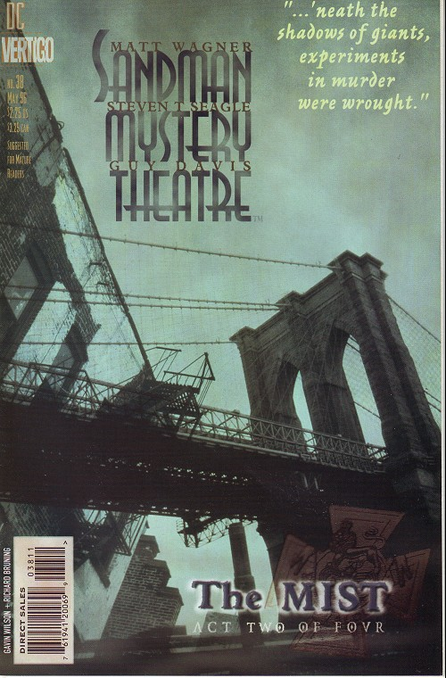Couverture de Sandman Mystery Theatre (1993) -38- The Mist (2)