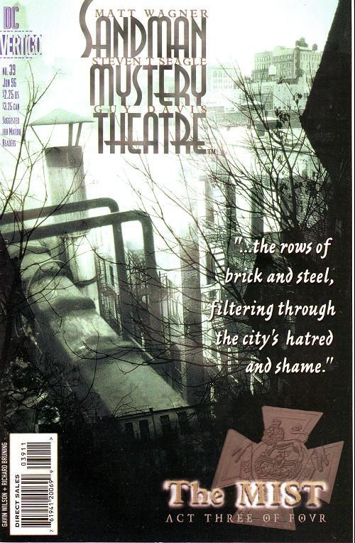Couverture de Sandman Mystery Theatre (1993) -39- The Mist (3)