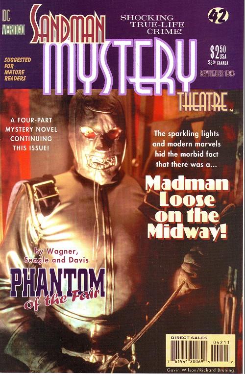 Couverture de Sandman Mystery Theatre (1993) -42- The Phantom of the Fair (2)