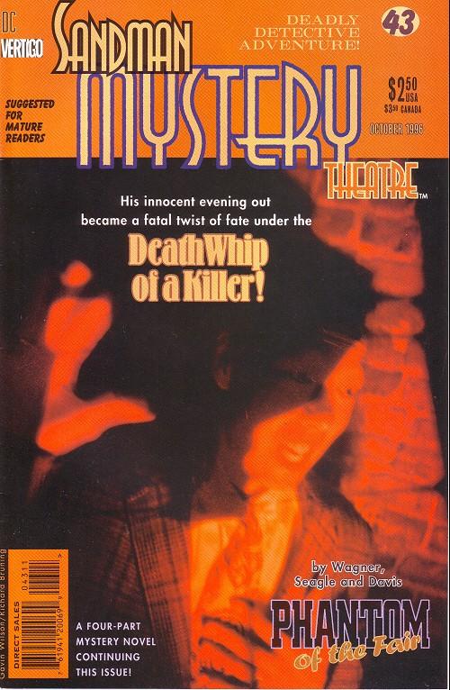Couverture de Sandman Mystery Theatre (1993) -43- The Phantom of the Fair (3)