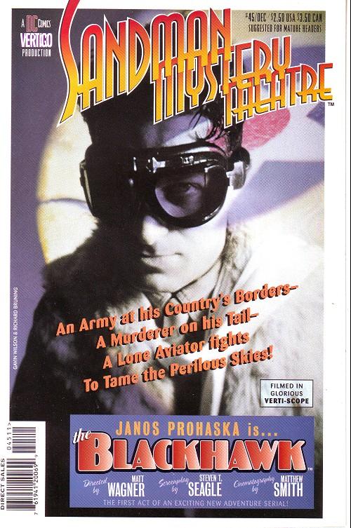 Couverture de Sandman Mystery Theatre (1993) -45- The Blackhawk (1)
