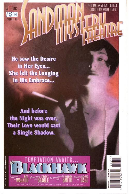 Couverture de Sandman Mystery Theatre (1993) -46- The Blackhawk (2)