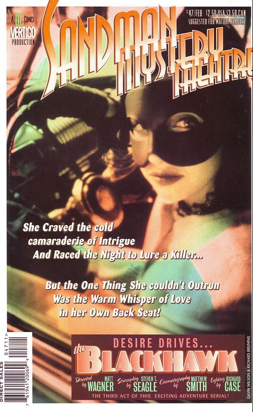 Couverture de Sandman Mystery Theatre (1993) -47- The Blackhawk (3)