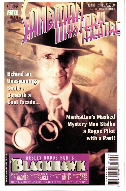 Couverture de Sandman Mystery Theatre (1993) -48- The Blackhawk (4)