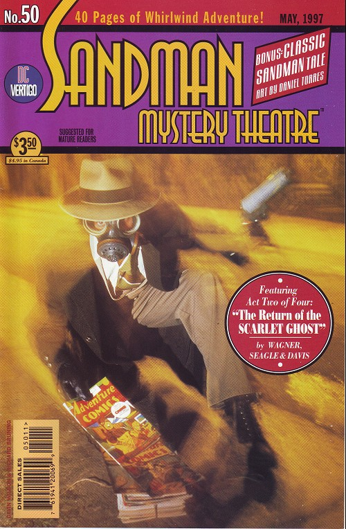 Couverture de Sandman Mystery Theatre (1993) -50- The scarlet Ghost (2)