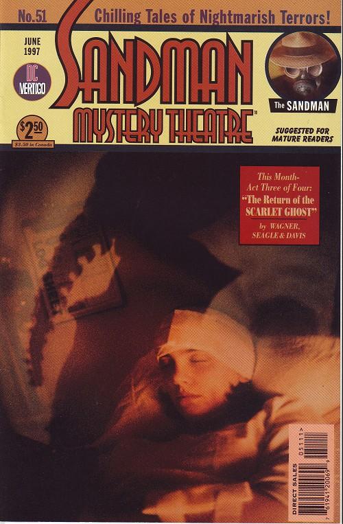 Couverture de Sandman Mystery Theatre (1993) -51- The scarlet Ghost (3)