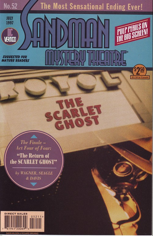 Couverture de Sandman Mystery Theatre (1993) -52- The scarlet Ghost (4)