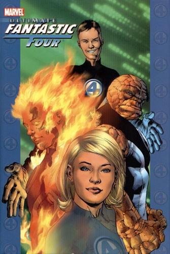 Couverture de Ultimate Fantastic Four (2004) -INT-1- Ultimate Fantastic Four vol.1