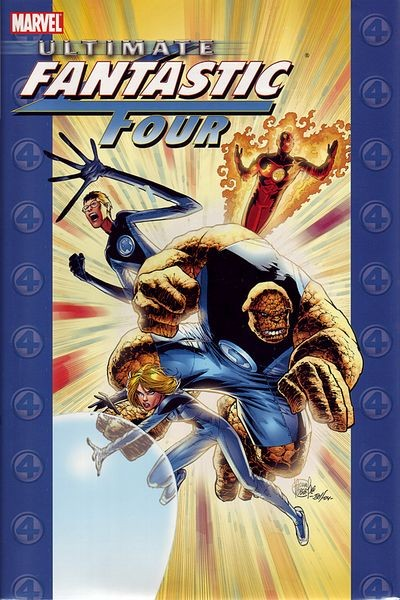 Couverture de Ultimate Fantastic Four (2004) -INT-2- Ultimate Fantastic Four vol.2