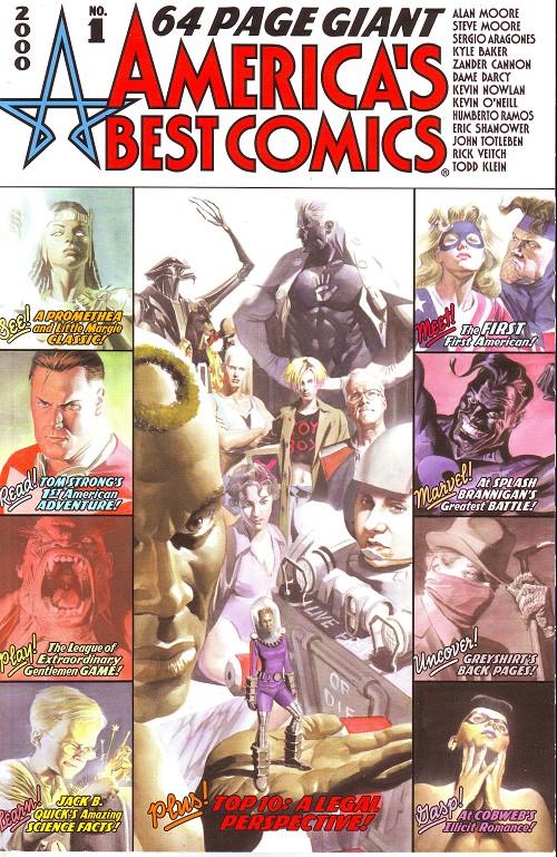 Couverture de America's Best Comics Special (DC comics - 2001) - America's Best Comics 64 pages giant