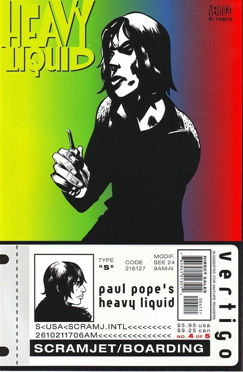 Couverture de Heavy Liquid (1999) -4- Issue 4