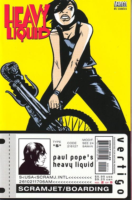 Couverture de Heavy Liquid (1999) -2- Issue 2