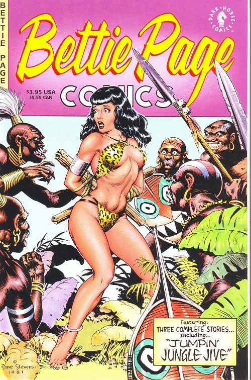 Couverture de Bettie Page Comics (1996) - Bettie Page comics