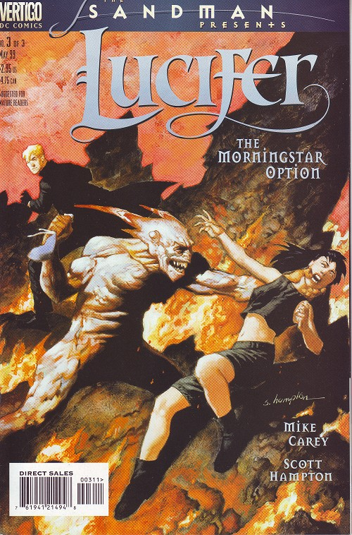 Couverture de Sandman presents (The): Lucifer -3- The Morningstar option (3)