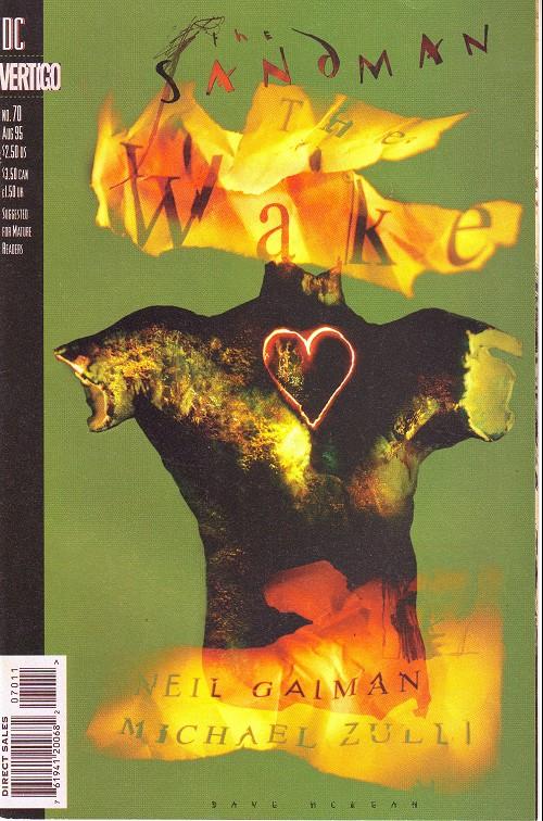 Couverture de Sandman (The) (1989) -70- The wake (1)