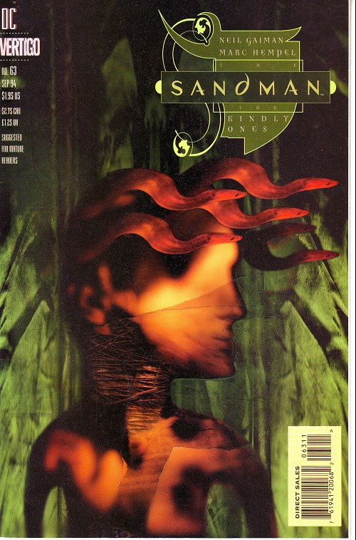 Couverture de The sandman (DC comics - 1989) -63- The kindly ones (7)
